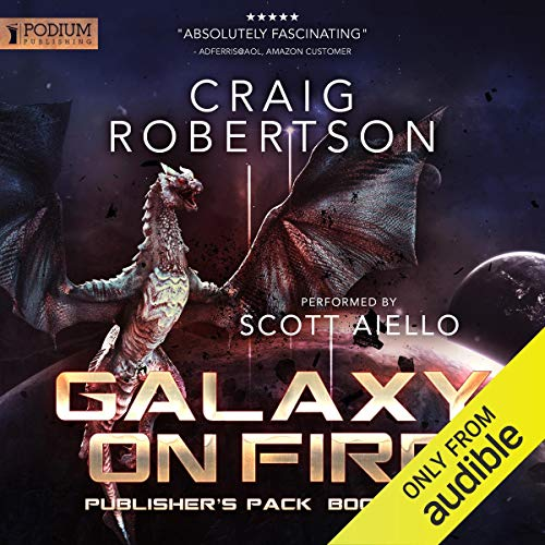 Galaxy on Fire: Publisher's Pack 3 audiobook cover art