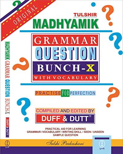 West Bengal Madhyamik Grammar Question Bunch (Class - X) with Vocabulary