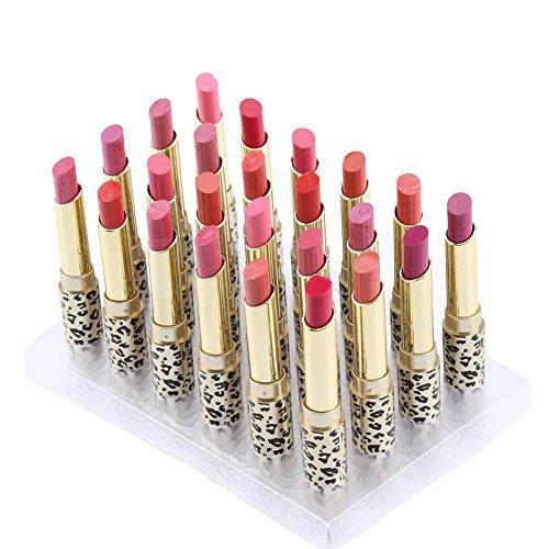 Anself Set Lippenstift Glossy die Balsam leicht zu tragen Lipstick weibliche Schönheit Style5