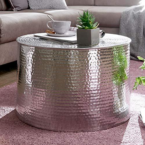 Mesa de Centro RAI 61 x 40,5 x 61 cm Aluminio Plata...