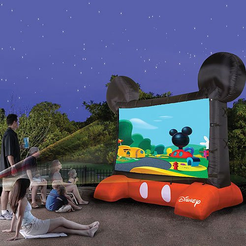 Airblown Mickey Inflatable Movie Screen