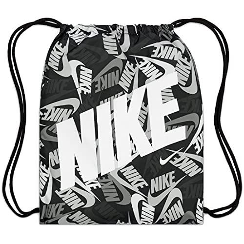 Nike Printed Gym Sack Turnbeutel Black/Black/White One Size