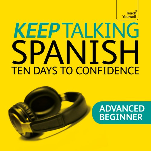 Keep Talking Spanish audiobook cover art