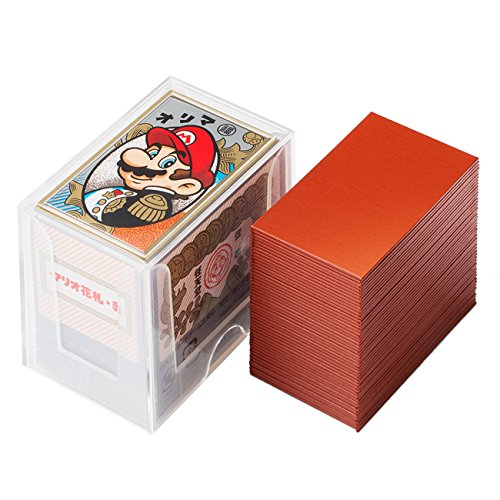 Nintendo Mario playing cards (red)
