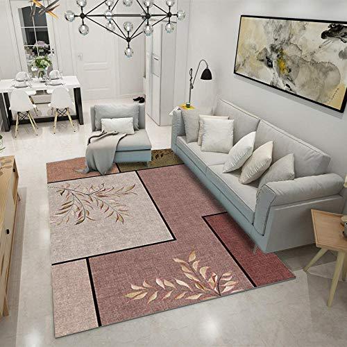 HXJHWB Alfombra Pelo Corto Pastel Diseño - Pequeña Alfombra geométrica degradada Multicolor Fresca Moderna Sala de Estar sofá Mesa de Centro fácil Cuidado-Los 40CMx60CM