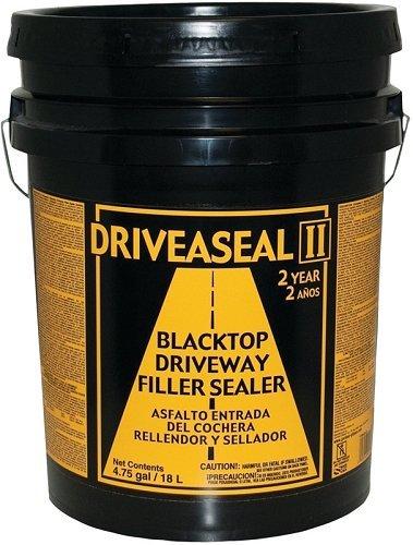 Gardner-Gibson 0525-GA Filler Sealer Blacktop Driveway 5g, 5 gal, Black