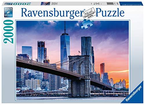 Ravensburger Puzzle 2000 Teile New York, Von Brooklyn Nach Manhattan, Puzzle Für Erwachsene Und Kinder Ab 14 Jahren