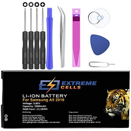Extremecells - Batteria per Samsung Galaxy A5 (2016), SM-A510F, EB-BA510ABE