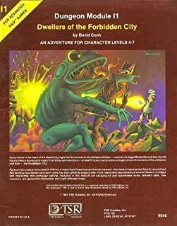 Dwellers of the Forbidden City: An Adventure for Character Levels 4-7 (Advanced Dungeons & Dragons)