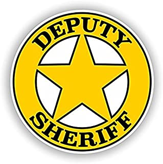 Best deputy sheriff stickers Reviews
