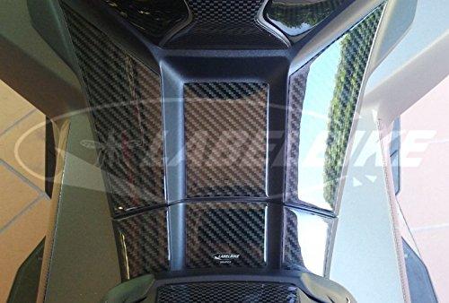 3D Gel Adhesive FOOTREST Protection kompatibel für Xadv Honda X-ADV 750