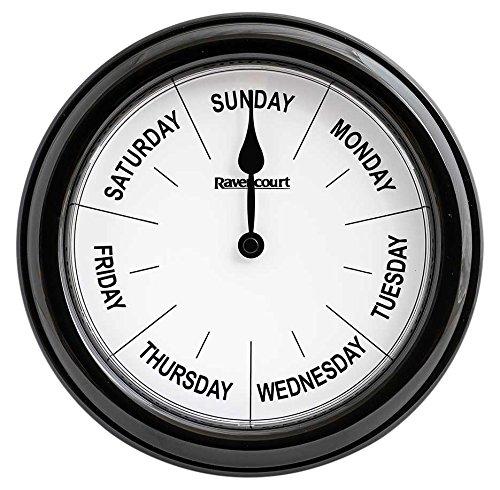NRS Dagen Van De Week Klok Ideaal voor Dementie en Alzheimer (Eigabel voor BTW Relief in het Verenigd Koninkrijk)