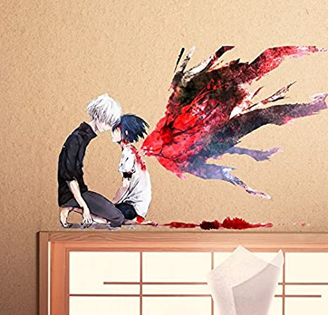 Details about  /3D Tokyo Ghoul I75 Japan Anime Wall Stickers Wall Mural Decals Acmy