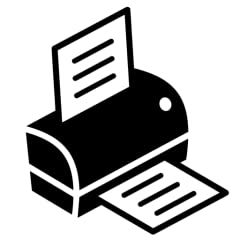 Print any type of document (PDF, Word, Photos etc.) Connect to any type of printer (WIFI, USB, Any make or model) Print from any app by forwarding the document as an attachment