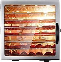 8 couche alimentaire machine à déshydrateur sèche acier inoxydable Fruit sèche-chien de l'air de la viande de légumes avec...
