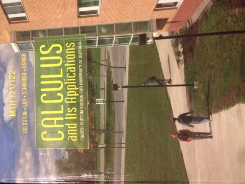Calculus and Its Applications (Fourth Custom Edition for University At Buffalo)