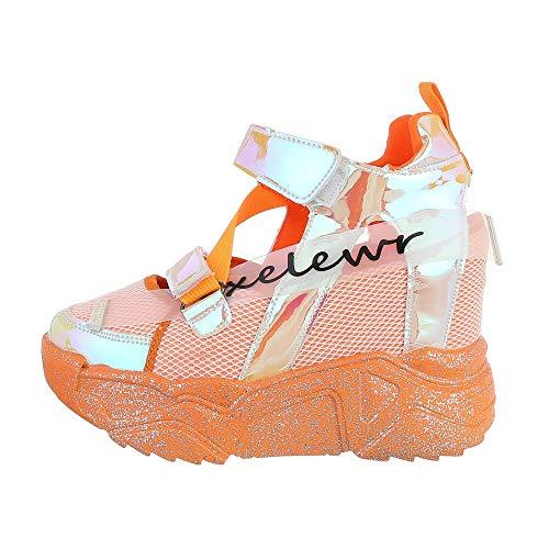 Ital-Design Damesschoenen High-top sneakers