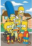 Rompecabezas De Madera 1000 Piezas De Dibujos Animados Anime Simpsons Rompecabezas Brain Challenge Juegos Juguetes Decoración para El Hogar Regalos 50X75Cm,Jigsaw Puzzle