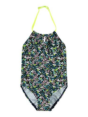 NAME IT Mädchen Badeanzug NKFZASSY Swimsuit, Größe:122-128, Farbe:Dark Sapphire