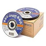 50 discos de corte 115 de metal, 50 discos de corte de 115 x 1,0 mm, discos flexibles 115 de metal fino de 1 mm, orificio: 22,23 mm, para amoladora angular o de corte