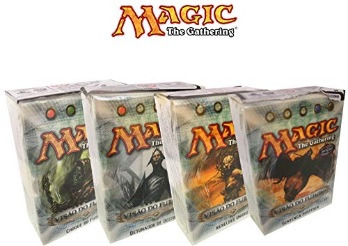 Kit 4 Decks Magic: The Gathering Visão do Futuro Wizard of the Coast - Suika