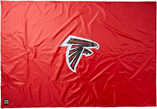 Logo Brands Officially Licensed NFL Atlanta Falcons Unisex 9 x 9 Side Panel Tent, One Size, Team Color