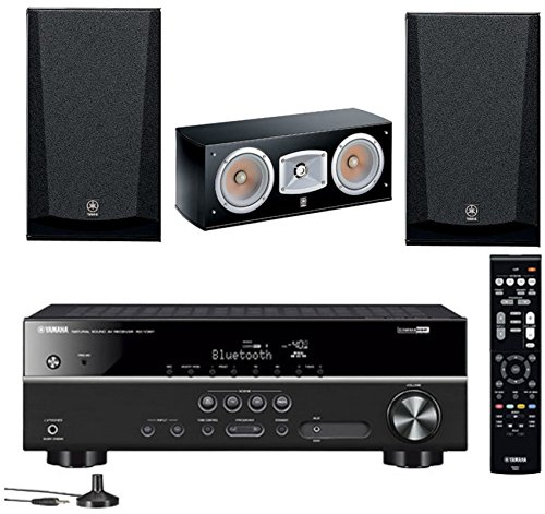 Yamaha 5.1-Channel Wireless Bluetooth 4K A/V Home Theater Receiver +