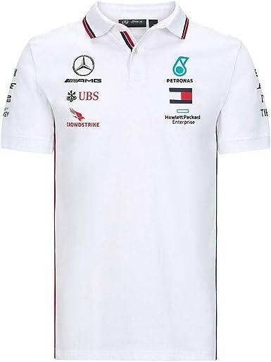 Mercedes-Benz Mercedes Amg Petronas Team Poloshirt Camisa de Polo para Hombre
