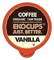 EkoCups バニラ グルメ コーヒー、40個 (並行輸入)