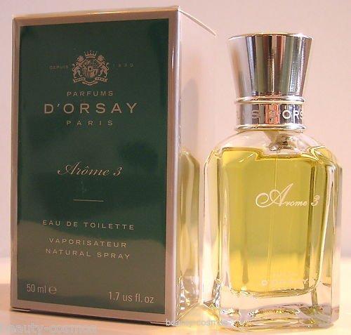 D'ORSAY Arome3 50 ml Eau de Toilette Spray pour Homme