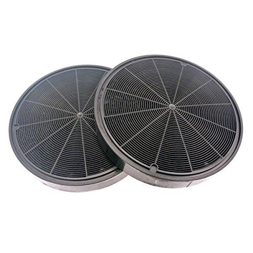 Kit 2filtros de carbón (Diam 19,8cm) ah4066ak8935ak8953cce16X hv8936DHE1136A DHT386DHT496dht498hv8935hv8936Falcon Plus falhdc110bc fhdse900wh/N hdc110bb M06099299campana de Dietri