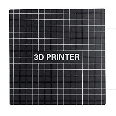 Build Surface 235x235 3D Printer Build Plate Platform Accessories for Ender 3 (pack of two) Eewolf
