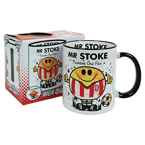 Mr Stoke Mug - Football kit Character City Gift for him Merchandise.