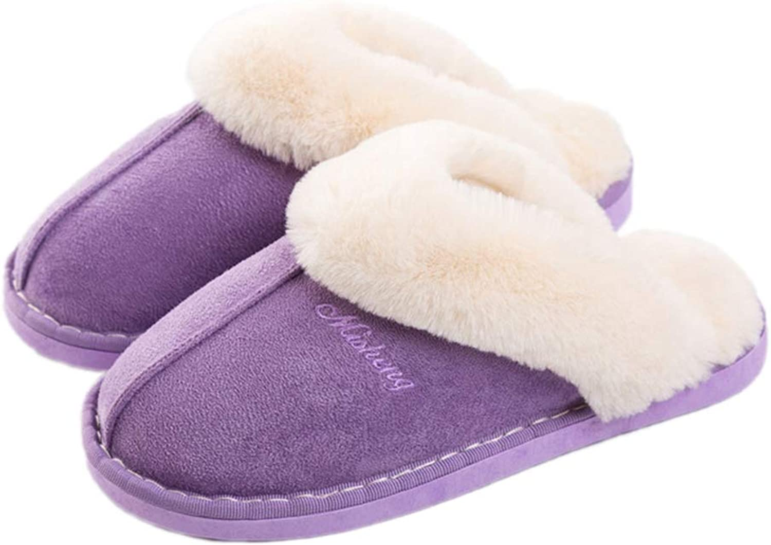 Nafanio Winter Women Slippers with Fur Casual Home Sandals House Female Ladies Cotton Winter Women shoes Flats