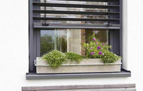Unbekannt Balkonkasten Blumenkasten Halter verstellbar 74 bis 110cm 200950120-HE