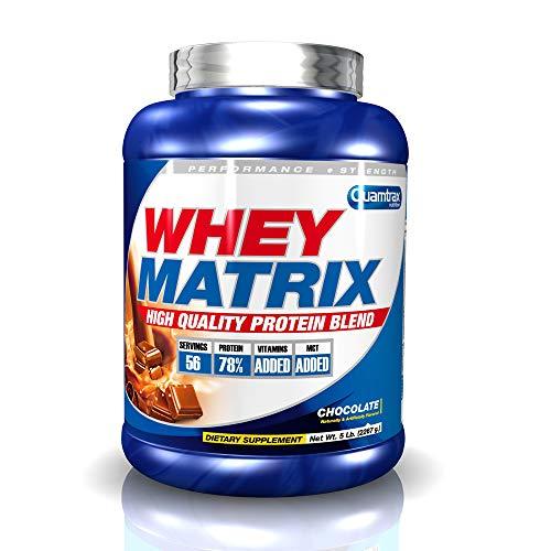 buenos comparativa Quamtrax Nutrition Whey Matrix, Sabor Chocolate – 2270g y opiniones de 2021
