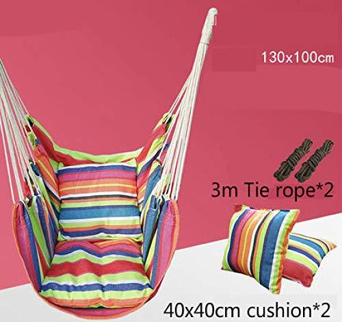 ZFLL Klaptafels en stoelen -niqueOutdoor hangmat student slaapzaal Single Lazy schommelstoel stof kunst balkon park hangmat tuinstoel