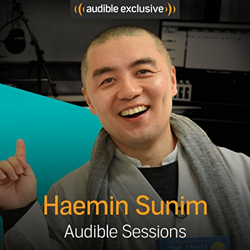 Haemin Sunim audiobook cover art