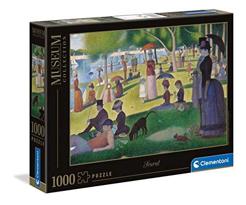 Clementoni 39613 Museum 1000 st – söndag på La Grande Jatte (Seurat), flerfärgad