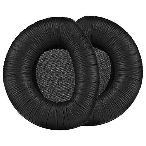 Almohadillas RS 170, Almohadillas de Repuesto Compatibles con Auriculares Sennheiser HDR 160/170/180 RS 160/170/180 (Cuero)