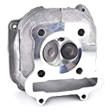 Cylinder Head With Valve for GY6 150cc Chinese Scooter Moped Parts 157QMJ For Engine With EGR
