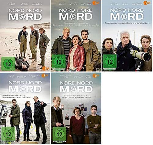 Nord Nord Mord 12 Filme Paket u.a. Sievers und die tödliche Liebe [DVD Set]
