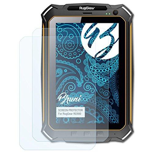 Bruni Schutzfolie kompatibel mit RugGear RG900 Folie glasklare Displayschutzfolie 2X
