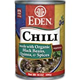 Eden Organic Black Bean & Quinoa Chili, 14-Ounce Cans (Pack of 12)