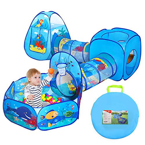 Ball Pit Tunnels and Play Tent