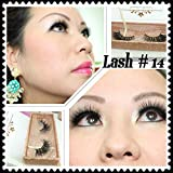 3D Mink Lashes - Handmade Thick Long False Lashes (014)