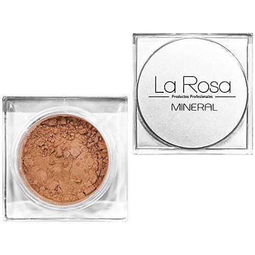 La Rosa base polvo mineral nº 52 natural rosa melocotón