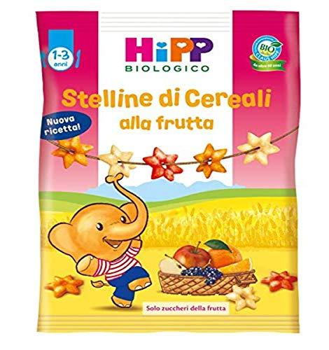 HiPP, Stelline Di Cereali Bio Alla Frutta, 9 Confezioni Da 30 G - 270 g