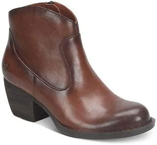 Woman's Carmel Booties Brown