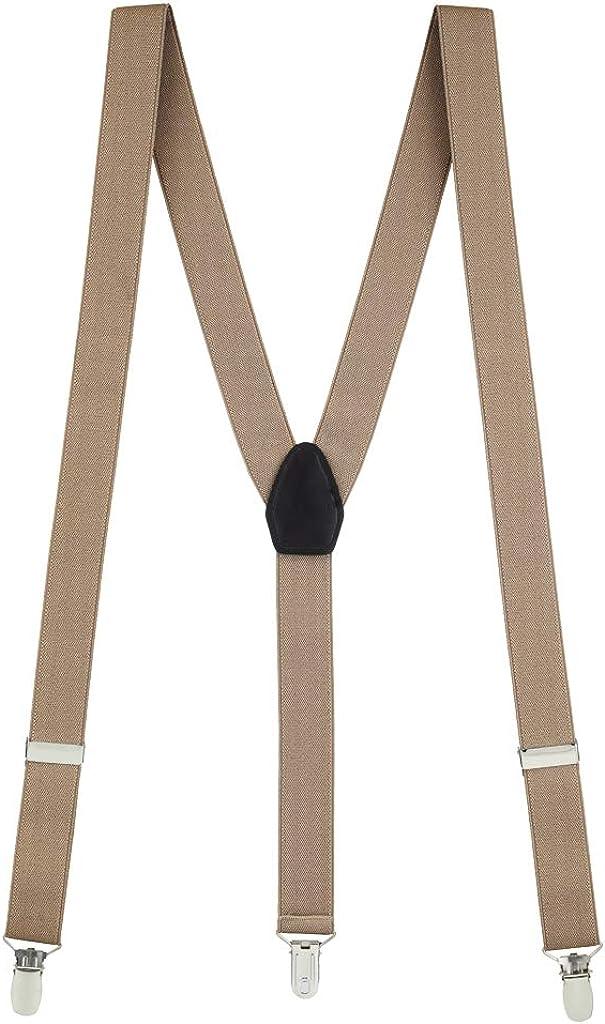 SuspenderStore Men's Y-Back Fresh Hues Suspenders (30 & 36 Inch)